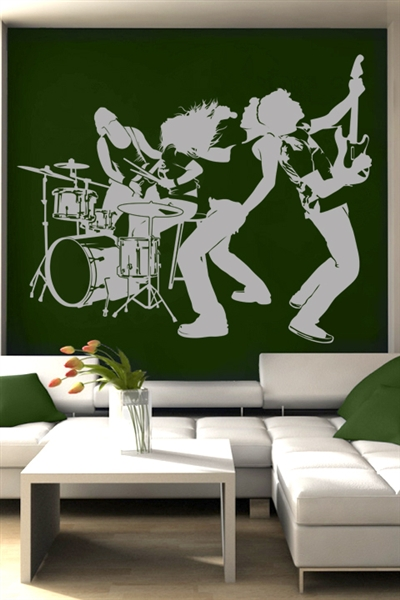 Wall Decals  Music Group