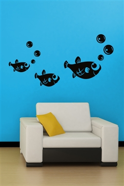 Wall Decals  Gloup! Gloup! Fish