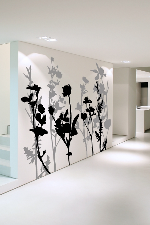Alternative Views & Wall Decals Floral Tree 2- WALLTAT.com Art Without Boundaries