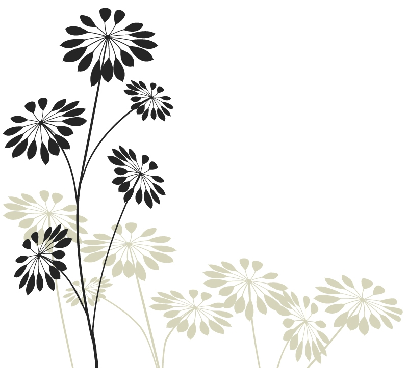 Precious Flowers Wall Decal Part 88