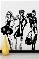 Wall Decals  Fashion Line