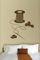 Wall Decals  Needle & Thread