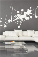 Paint Drip Splatter Wall Decal 32 colors- 6 sizes | Walltat.com