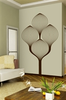 Art Deco Tree Wall Decals