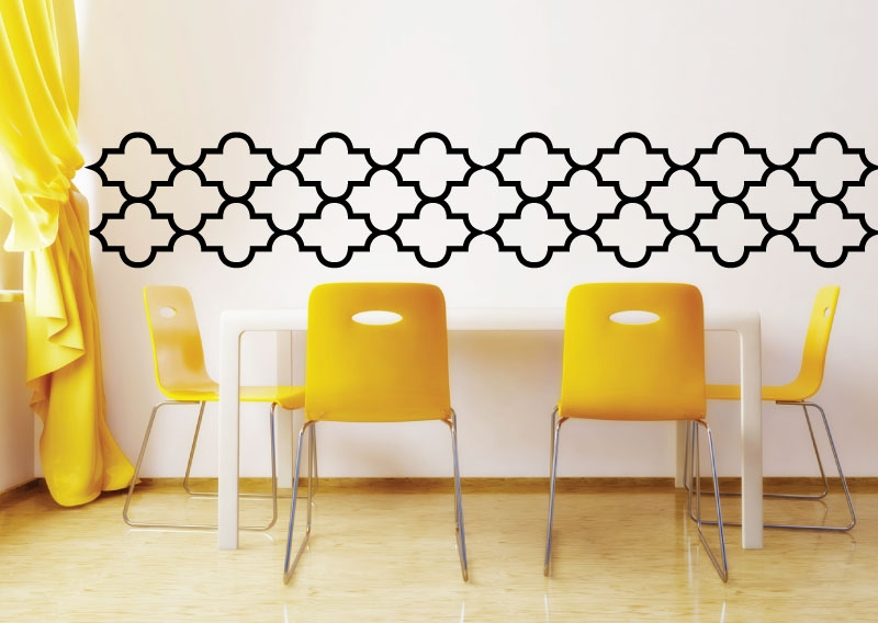 Lattice Pattern Wall Decals- Walltat.Com