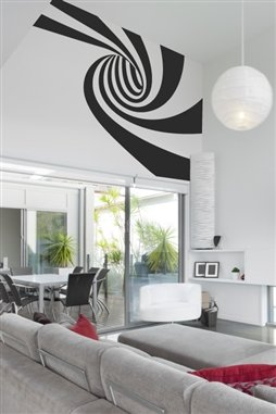 Wall Decals Optical Swirl