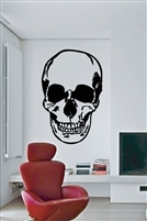 Human Skull Wall Decals