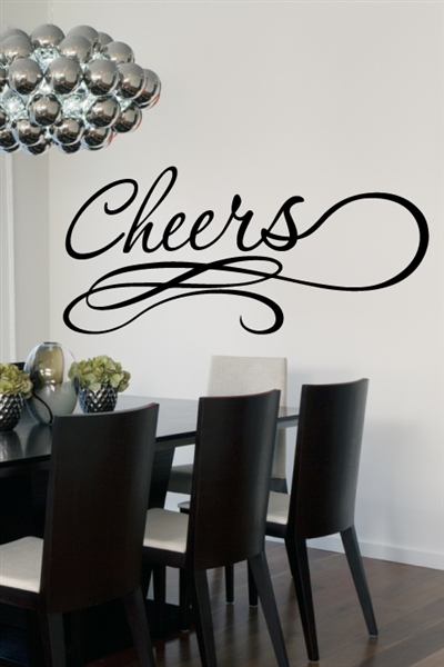 Cheers Wall Decals