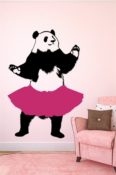 TuTu Panda Wall Decals