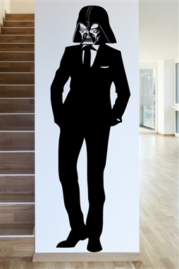 Tall, Darth and Handsome Wall Decals