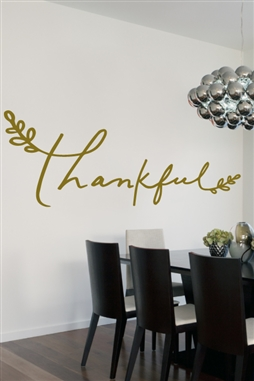 Thankful Wall Decals