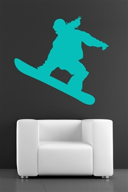 Wall Decals Snowboarder