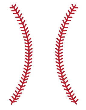 Baseball Stitches Wall Decals Walltat Com Art Without