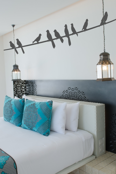 Birds On A Wire Wall Decals | WALLTAT