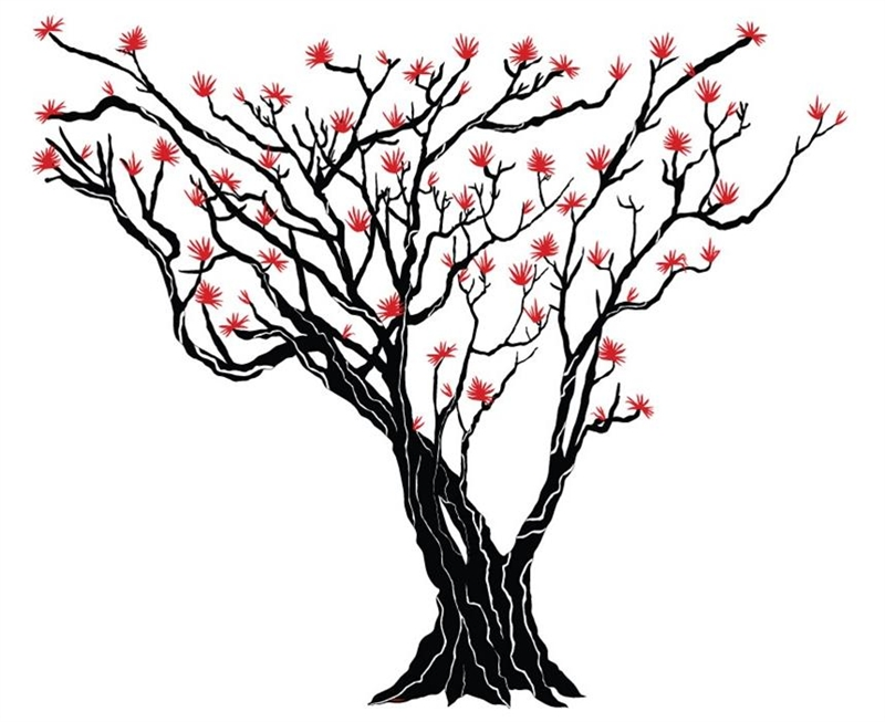japanese maple tree wall decal tree wall decals tree trunk clip art image tree trunk clipart template