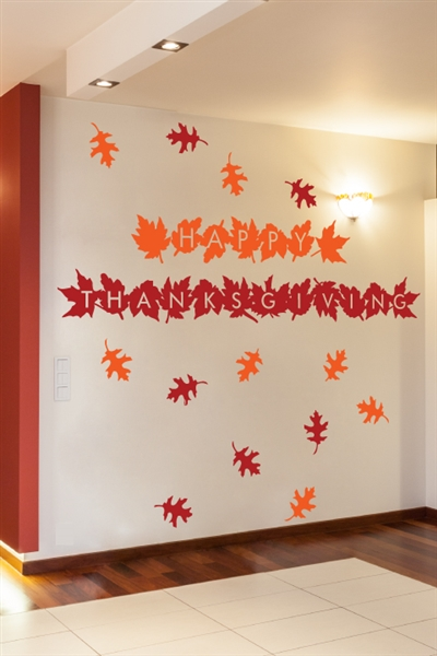 Thanksgiving wall decals