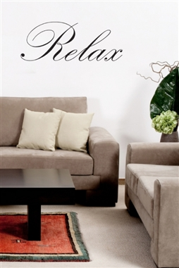 Relax Wall Decals