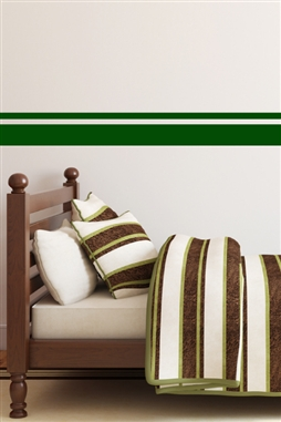 Wall Decals Double Stripe Border