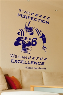 Wall Decals Football Excellence