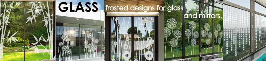 Frosted Glass Decals Decorative Glass Stickers