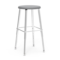 "Virco 120 Stool  Adjustable 19"" - 27""H"