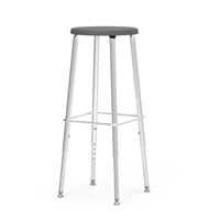 "Virco 120 Stool  Adjustable 25"" - 33""H"