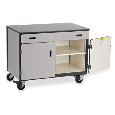 Mobile Storage Cabinet Combo