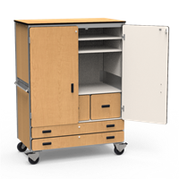 Multi-Purpose Mobile Storage Cabinet