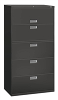 HON Brigade Lateral 5 Drawer Filing Cabinets
