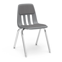 "Virco 9018P Padded Classic Stacking Chairs - 18""H"