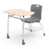 Virco Analogy Student Combo Desk - Mobile