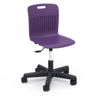 "Virco Analogy Swivel Chairs - 16"" Small"