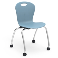 "Virco ZUMA Civitas Chair - 18""H Mobile"