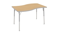 Adjustable Activity Tables - 30x48 SURF Shape