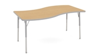 30x60 SURF Shape - Adjustable Activity Tables