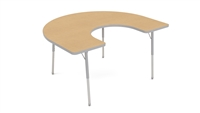 ENERGi -  Adjustable Activity Tables - 48x60 Horseshoe
