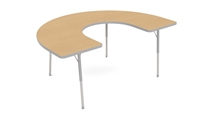 Value 48x72 C-Shape Activity Tables