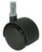 Dual Wheel Soft Casters - 5 Per Set