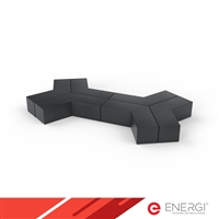 Ottoman Modular Seating Group - Dog Bone