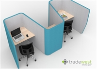 SOLO 3 - Private Work Pods - 3 Person