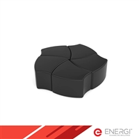 PETAL Shape Ottoman Group