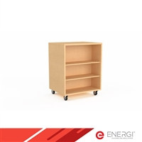 Mobile Bookcase - Double Sided