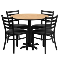 "Cafe Chair & Table Set - 36"" Round"