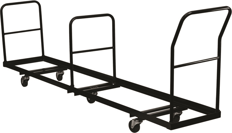 Folding Chair Cart   For Metal Folding Chairs