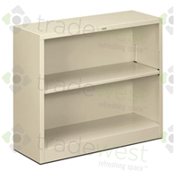 "30""H Steel Bookcase"