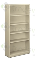 "72""H Steel Bookcase"