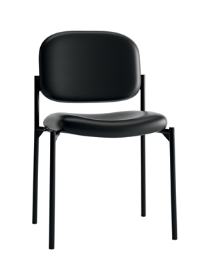 Hon Value Padded Stacking Waiting Room Chair - Armless