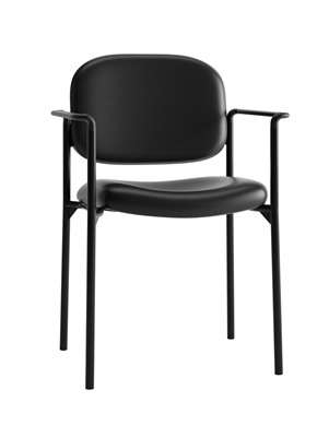 Value Padded Stacking Chair - with arms