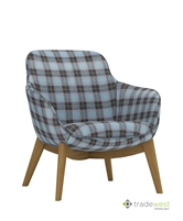ILK Low 4-Leg Chair