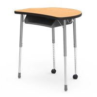 Virco Molecule Student Desk - 24x32 with Bookbox